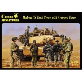 Caesar H103 Equipages de chars US modernes et Infanterie