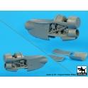 Blackdog A48075 E-2 C Hawkeye 2 engines