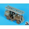 Blackdog T35190 Jeep Willys CJ2A firetruck conversion set
