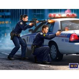 Master Box 24064 - Sergent Jack Melgoza et agent Sally Taylor
