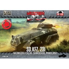 First to Fight 64 Automitrailleuse blindée allemande Sd.kfz 231