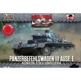 First to Fight 63 Tank de commandement allemand Panzerbefehlswagen III Ausf.E