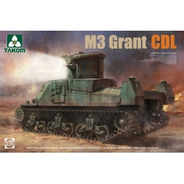 Takom 2116 Char britannique M3 Grant avec système de vision CDL 1/35e