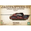 Takom 2106 Chasseur de chars Sd.Kfz.173 Jagdpanther G1 prod. tardive 1/35e