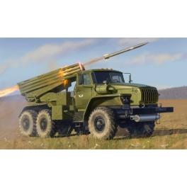 """Zvezda 3655 Camion russe lance-roquettes BM-21 """"Grad"""" 1/35e"""