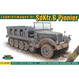 ACE 72567 Semi-chenillé allemand Sd.Kfz.6 Pionier
