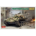 Rye Field Model 5018 Char allemand Sd.Kfz 171 Panther Ausf.G début/fin de production