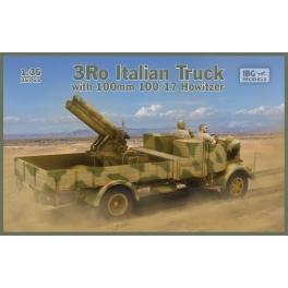 IBG 35053 Camion italien 3Ro avec obusier de 100mm 100/17