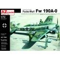 AZ Model 7583 Chasseur allemand Focke-Wulf Fw-190A-0