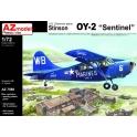 AZ Model 7589 Avion de reconnaissance Stinson OY-2 Sentinel