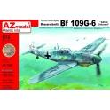 AZ Model 7596 Chasseur allemand Messerschmitt Bf-109G-6 'Alfred à bord'