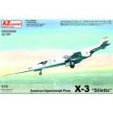 AZ Model 7597 Chasseur américain expérimental X-3 Stiletto
