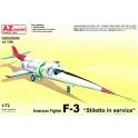 AZ Model 7598 Chasseur américain F-3 Stiletto 'en service'