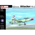 AZ Model 7599 Chasseur britannique Supermarine Attacker FB.2