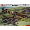 AZ Model 7288 Chasseur britannique Supermarine Spitfire Mk.IIa As