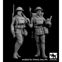 Black Dog F35196 British soldiers  WW I set