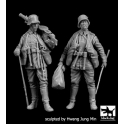 Black Dog F35199 German soldiers WW I set
