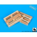 Black Dog W35002 Wooden palets   2pcs