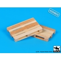 Black Dog W48001 Wooden palets 2pcs