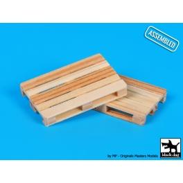 Black Dog W48001 Wooden palets 2pcs