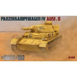 World at War 7209 Panzer IV Ausf.D