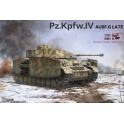 Border Models BT-001 Char allemand Panzer IV Ausf.G production tardive