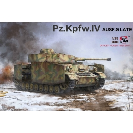 Border Models BT-001 Char allemand Panzer IV Ausf.G production tardive