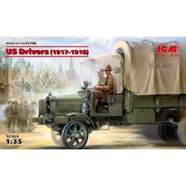 ICM 35706 Figurines de conducteurs US Army 1ère Guerre Mondiale