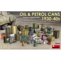 MiniArt 35595 Bidons d'huile et de carburant années 30-40