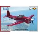 """Special Hobby 72356 Avion-école Boulton-Paul Balliol """"Utilisateurs civils et étrangers"""""""