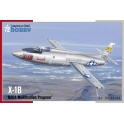 "Special Hobby 72168 Avion expérimental X-1B ""Programme modifié NACA"""