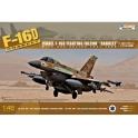 Kinetic 48009 F-16D Brakeet Force aérienne israélienne