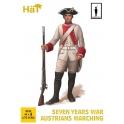 Hät 8322 Autrichiens en marche Guerre de 7 ans