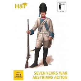 Hät 8323 Autrichiens en action Guerre de 7 ans