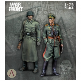 Scale75 SW-72011 Officier et sous-officier allemands