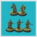 TQD-BR02 British infantry advancing with supplies