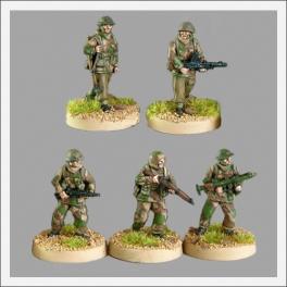CP TQD BR05 British riflemen in windproof smocks I