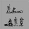 CP TQD FJ04 CP TQD FJ04 Fallschrimjager HQ team