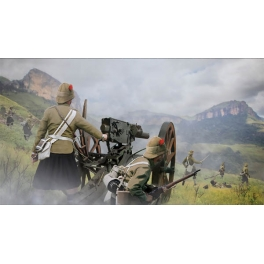 Strelets 189 Canon Pom-Pom avec servants anglais Guerre des Boers