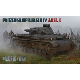World at War 7210 Panzer IV Ausf.C