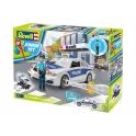Revell junior - voiture de police avec figurines
