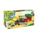 Revell junior - Tracteur avec remorque