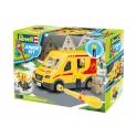 Revell junior - Camion de livraison avec figurine