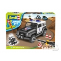 Revell junior : Jeep de police