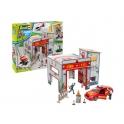 Revell junior - Caserne de pompiers avec voiture et figurines