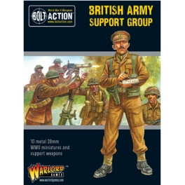 Warlord Games 402211011 Groupe support Armée britannique