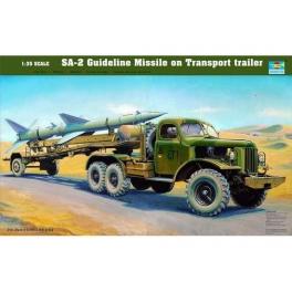 Ensemble lance-missile SAM-2