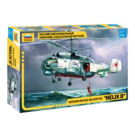 "Zvezda 7247 Hélicoptère de sauvetage Kamov Ka-27 ""Helix D"""