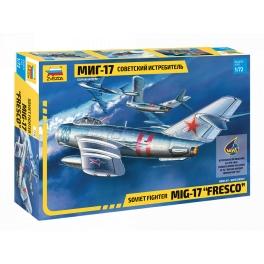 "Zvezda 7318 Chasseur soviétique MiG-17 ""Fresco"""