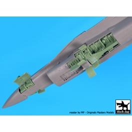 Black dog A72065 1/72 F-16 C electronics